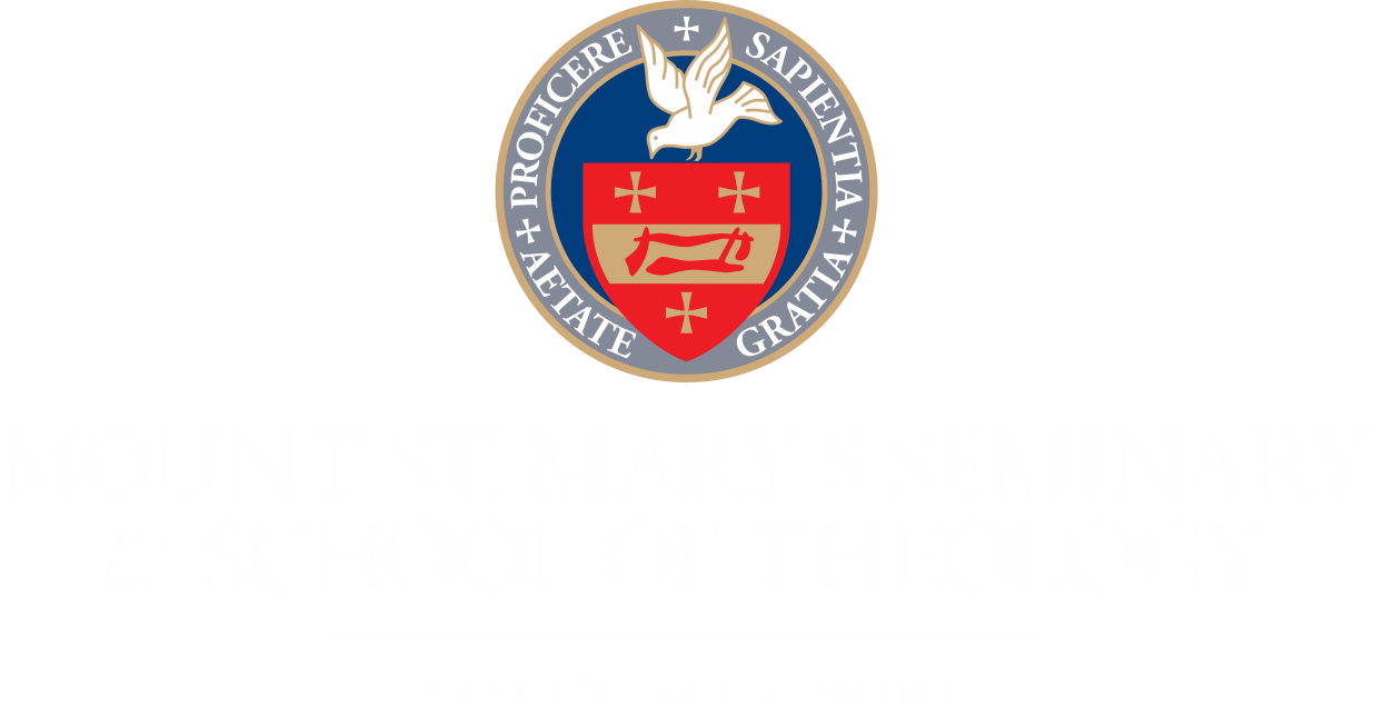 Mount St. Mary's Seminary and School of Theology, Cincinnati Ohio Emblem and Logo